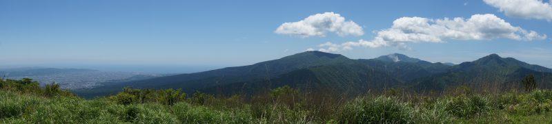 矢倉岳 山頂真パノラマ