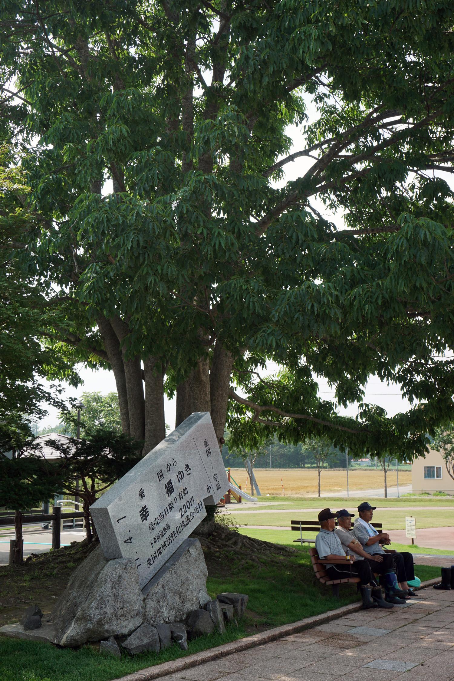 愛国駅② 2015.7.31