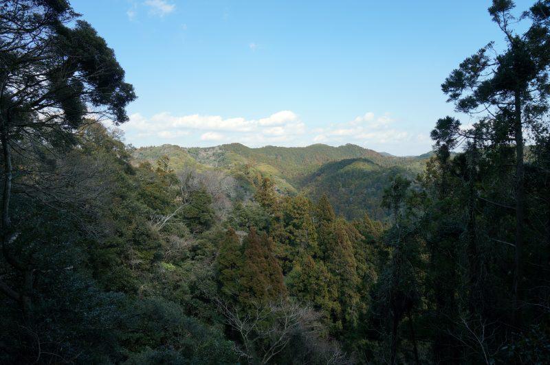 経文石先からの風景
