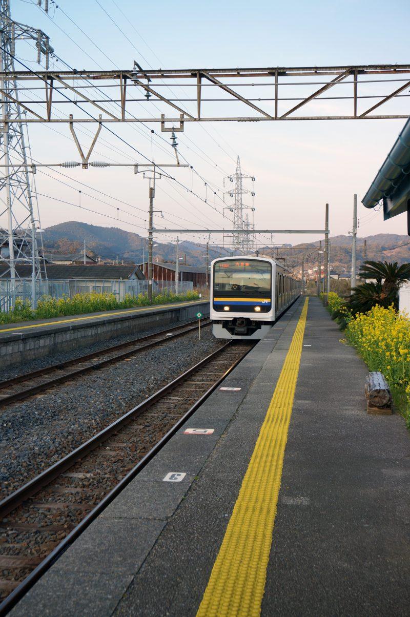 和田浦駅 出発