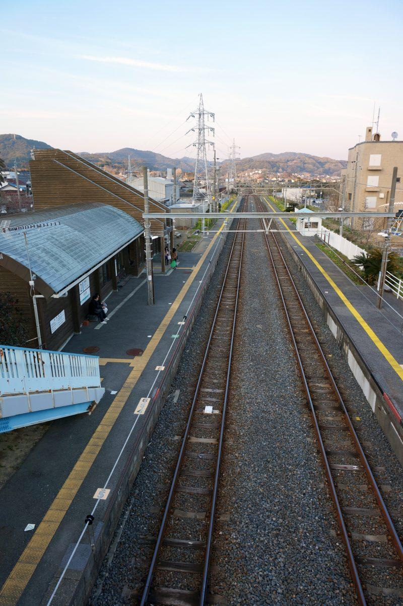 和田浦駅 陸橋