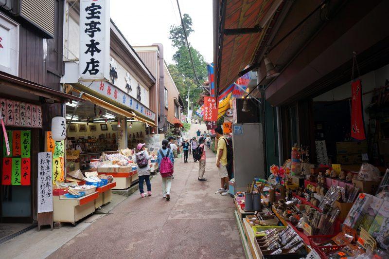 武蔵御嶽神社門前商店街
